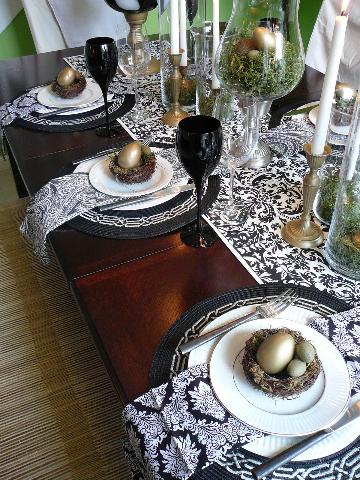 Focal Point Styling Spring Tablescape Idea A Modern Nest