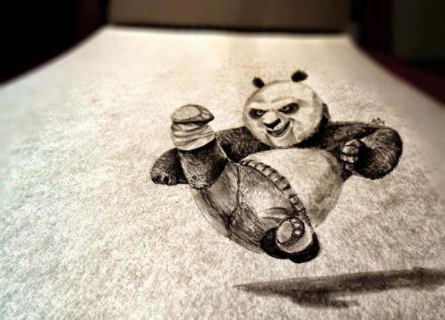 33 Of the Mind-blowing 3D Pencil Drawings You Will Ever See