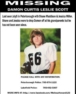 Image updated Damon Scott missing poster