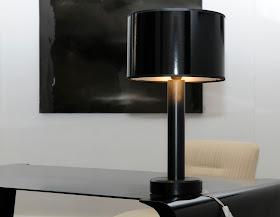 lampe noir classique
