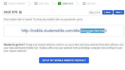 Blogger Mobil Adsense