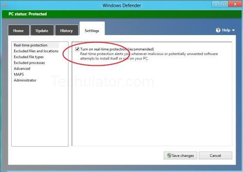 yak begitulah cara mematikan windows defender di windows 8 selamat ...
