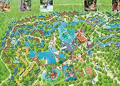Center parcs de het heijderbos parkplan for Port zelande map