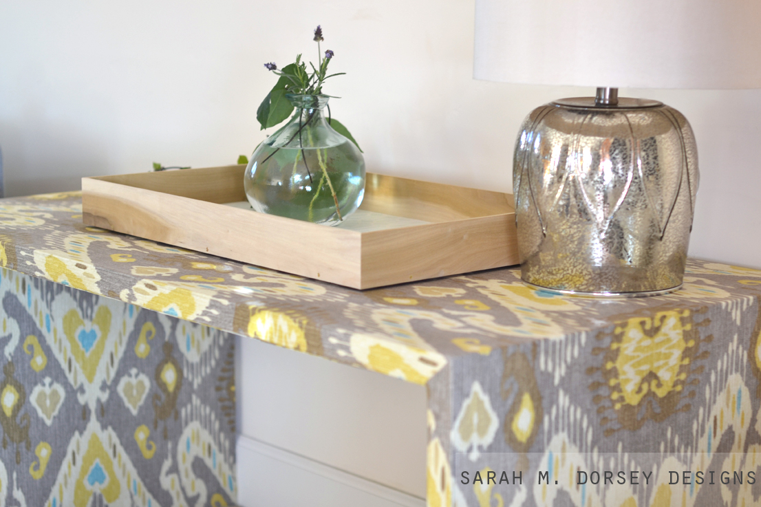 High Quality Fabric Wrapped Table Continued