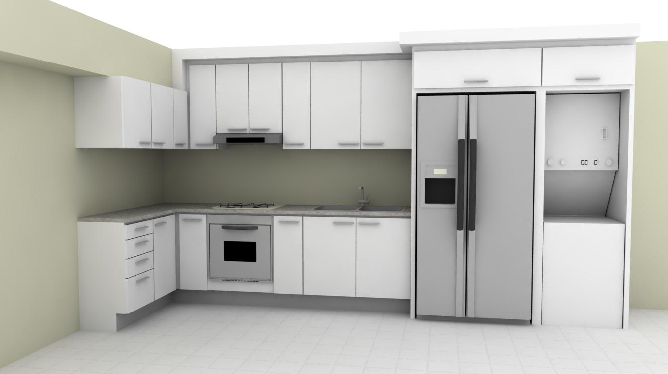 Cocina Integral Sketchup ~ Magonz.com = La Idea De Diseño De La ...