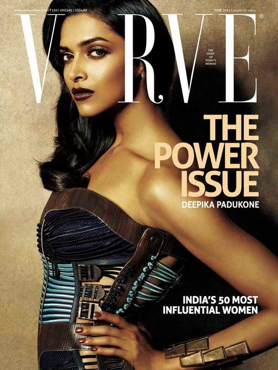Deepika Padukone - Deepika Padukone On Verve Magazine Cover June 2011 Edition