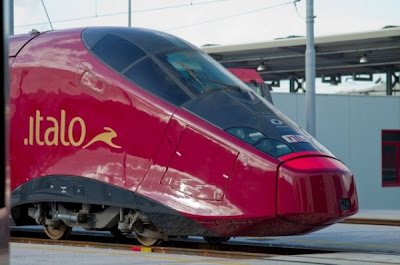 Italian high-speed train
