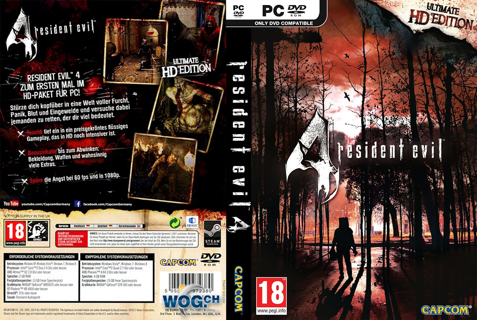 Capa Resident Evil 4 Ultimate HD Edition PC