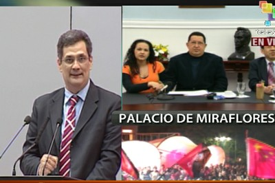Presidente Chávez celebra exitoso lanzamiento de satélite Miranda