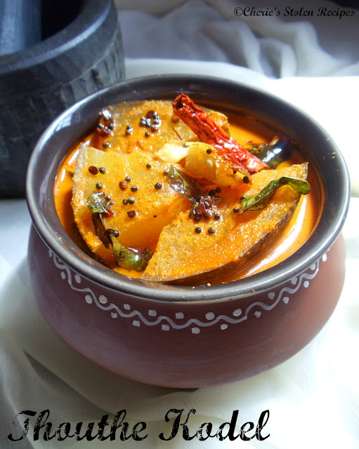 Thouthe kodel -Mangalore Cucumber Curry