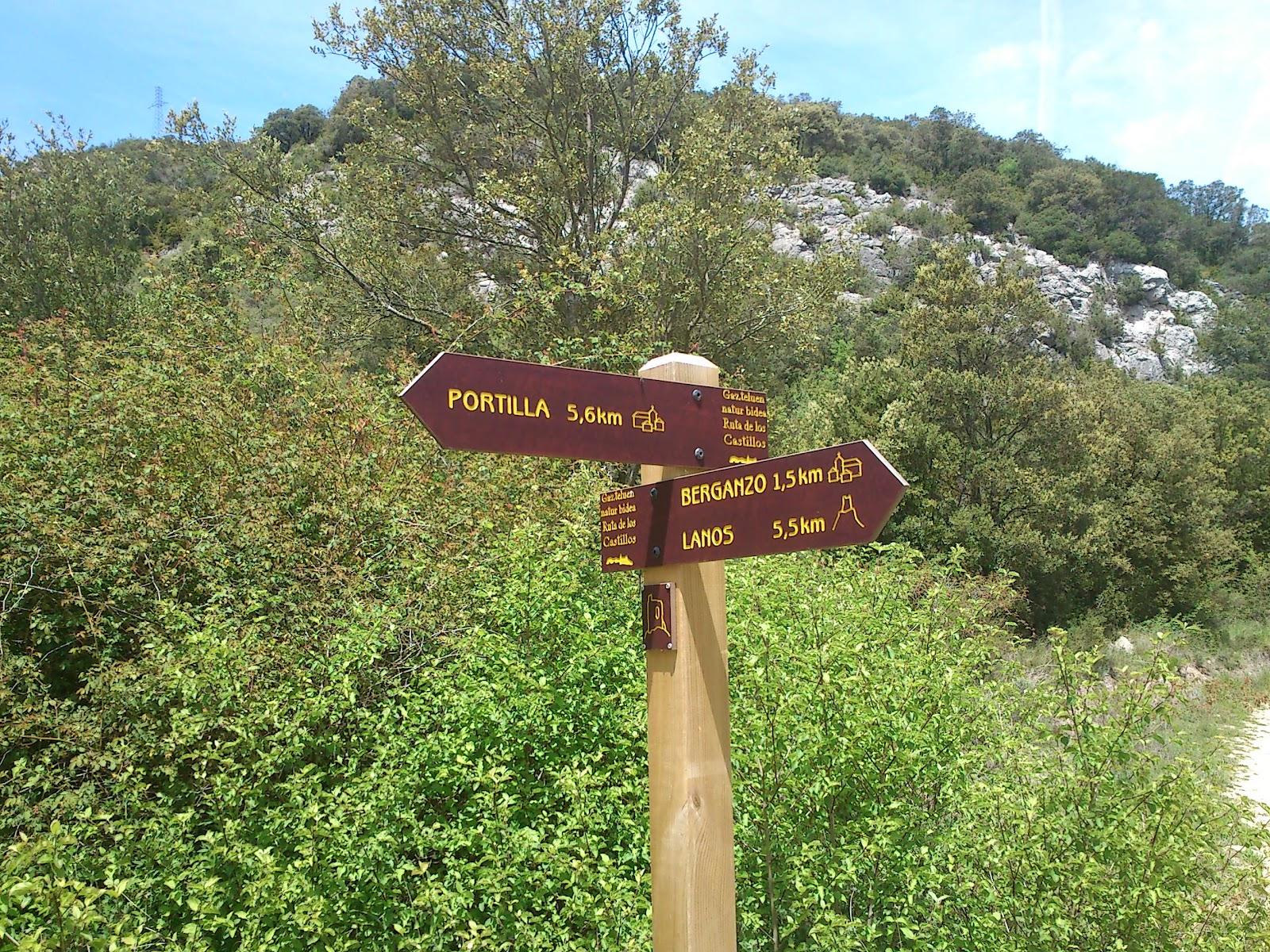 Berganzo: Ruta 2: Circular Berganzo a Portilla por La Rasa