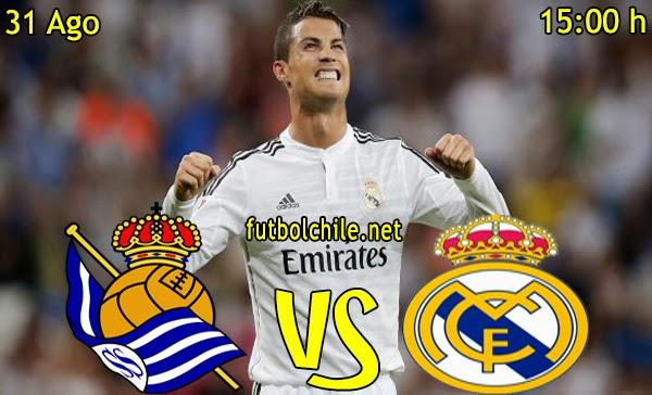 Real Sociedad vs Real Madrid - La Liga - 15:00 h - 31/08/2014