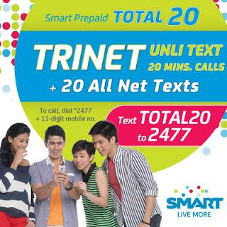 Smart TOTAL20 TRINET