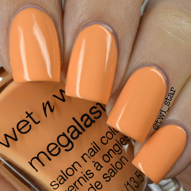 Wet N Wild California Dreaming Sun Settle Down polish swatch