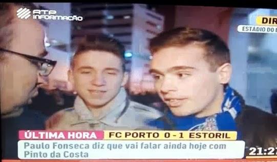 Adeptos do FC Porto mandam Paulo Fonseca para a Puta que o Pariu