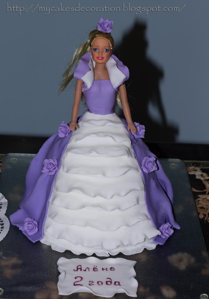 Торт из куклы своими руками