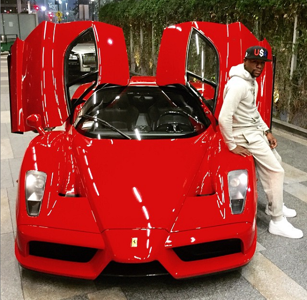 Floyd Money Mayweather Ferrari Enzo