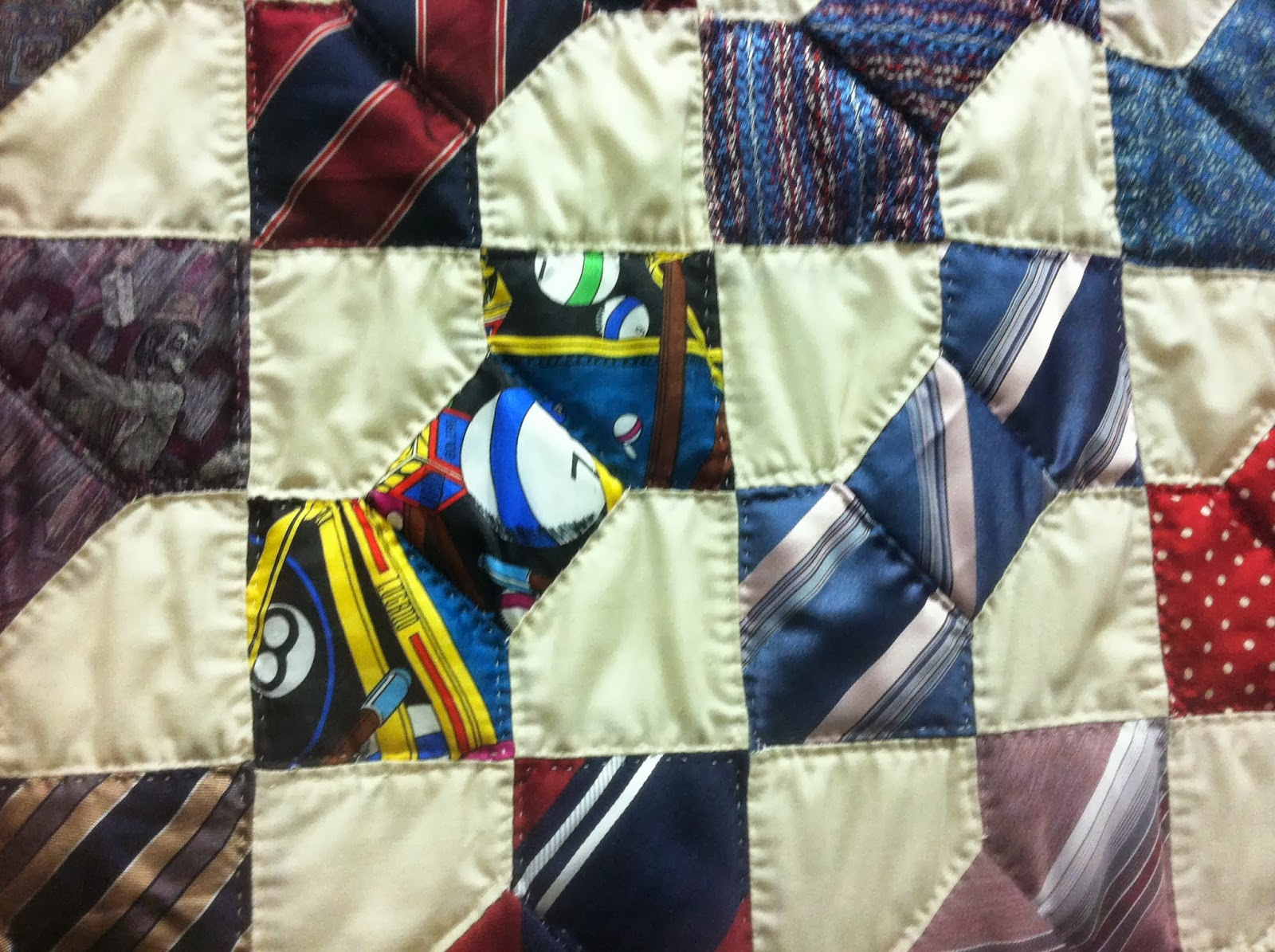 Artful Ties: Art Quilts : silk tie quilts patterns - Adamdwight.com