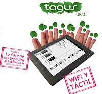 Lector Ebooks Tagus Táctil