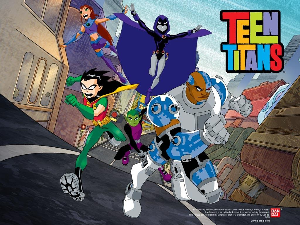 Ver titanes adolescentes temporada 1