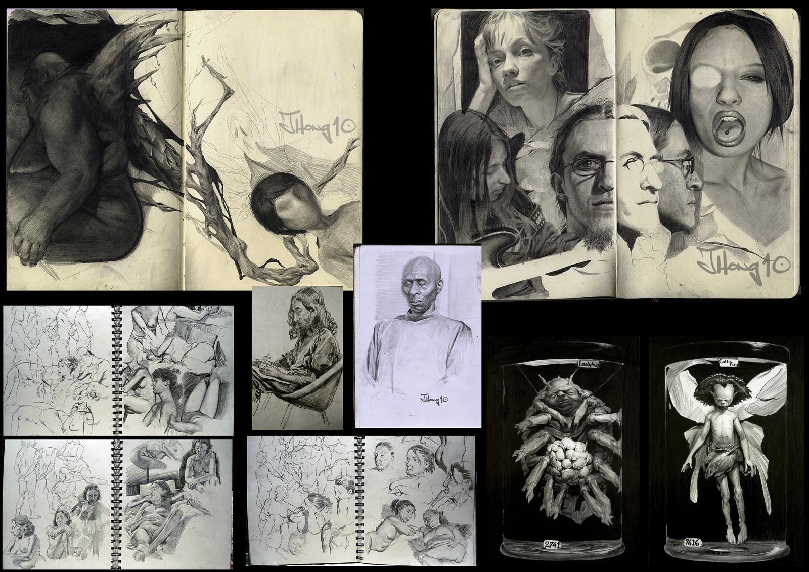 Jason Hong: Ronin freelance artist for hire