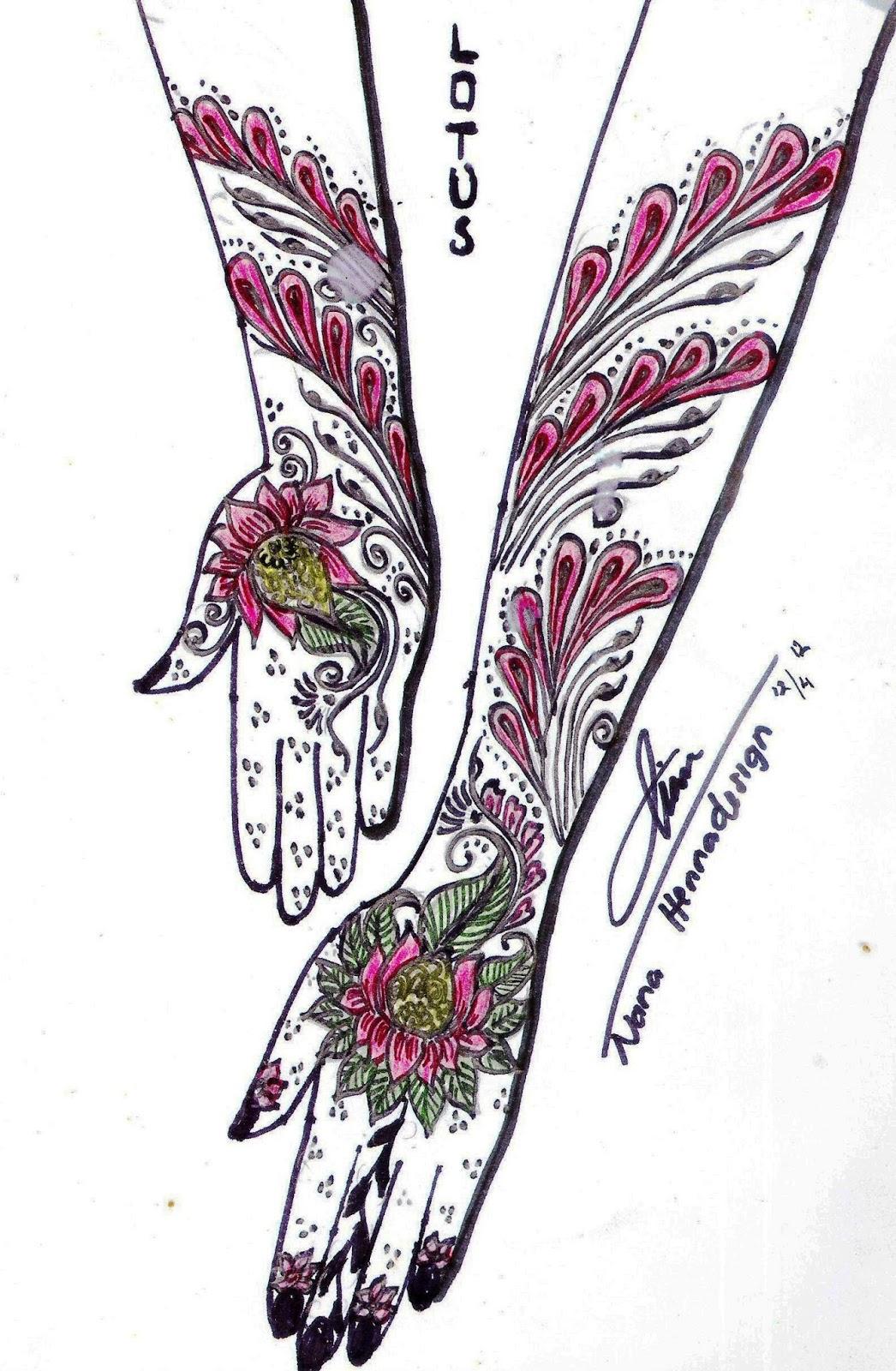 NANA HENNA UNGARAN SEMARANG HENNA DESIGN ON PAPER By NANA HENNA
