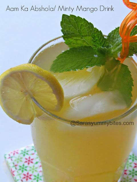 Aam Ka Abshola / Minty Mango Drink