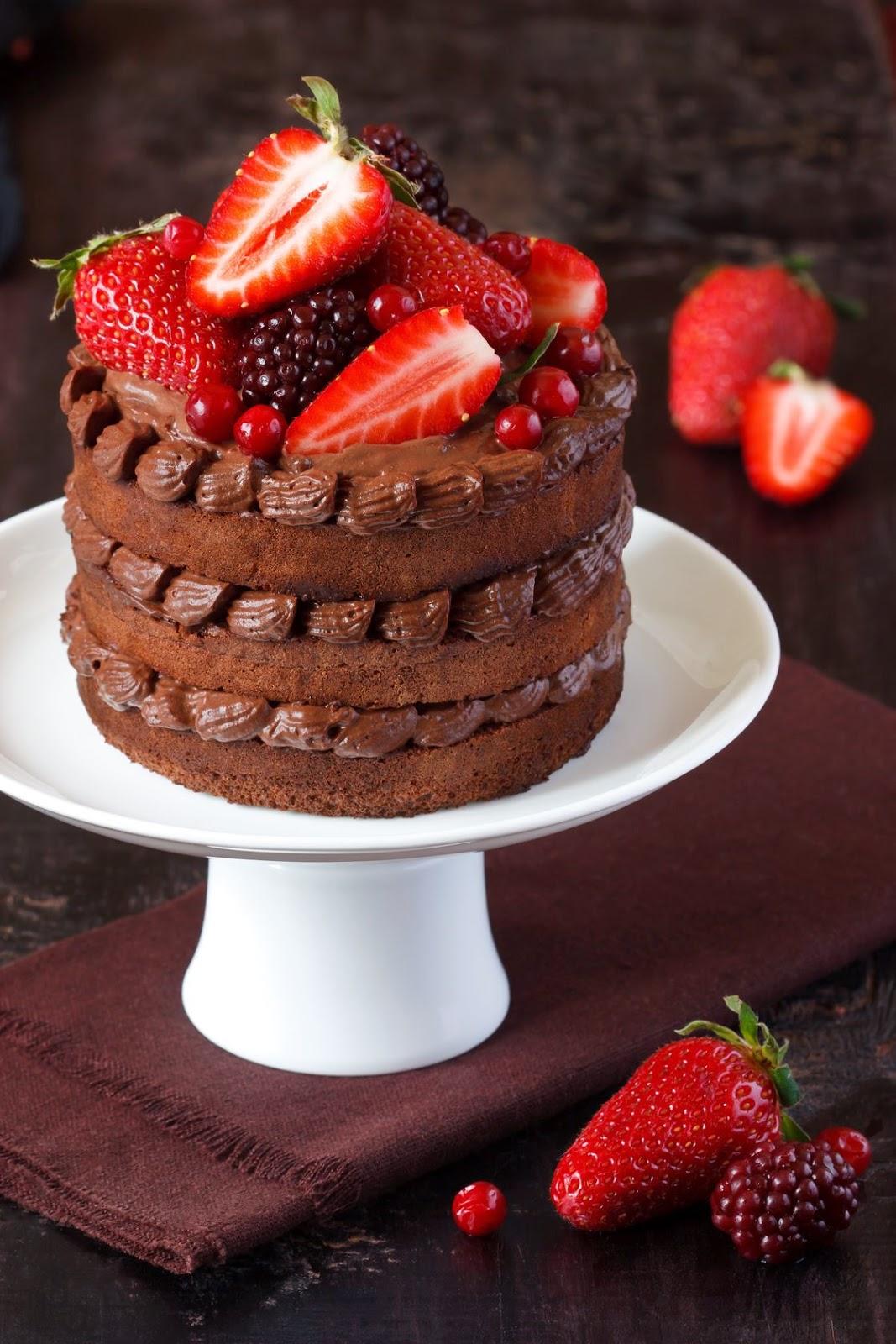 The Best Valentine's Cake