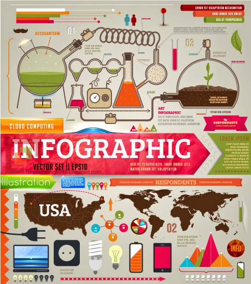 Nice set of infographics for designers