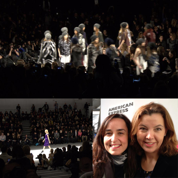 Sky Box view of BCBG & Richard Chai at NYFW, thanks to @AmericanExpress! @BCBGMAXAZRIA,  featured on shopalicious.com