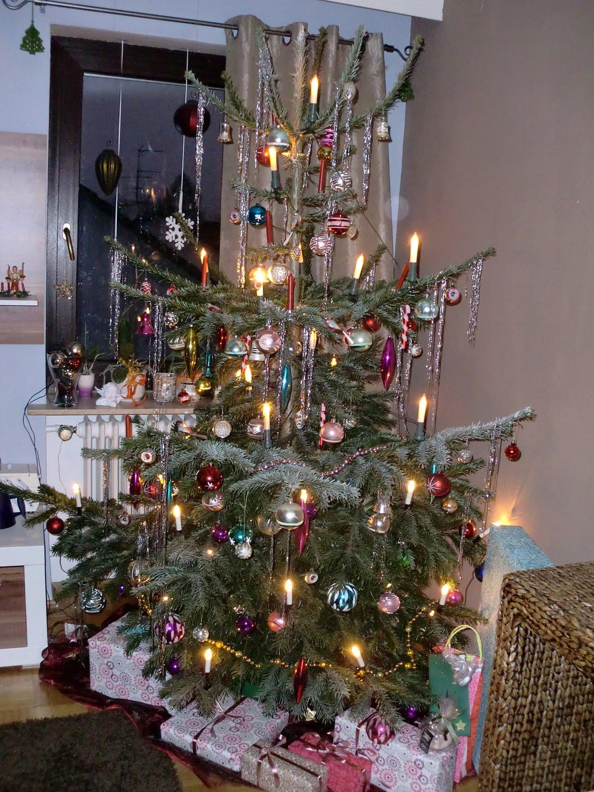 Weihnachtsbaum ohne spitze