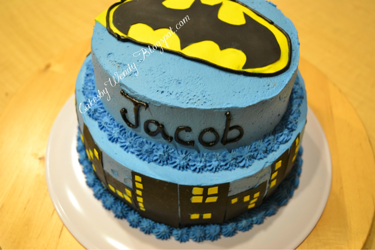 How To Make Gotham City With A Cake Cupcakes