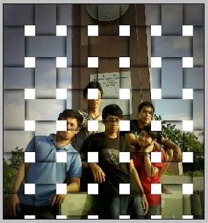 Efek Foto Anyaman
