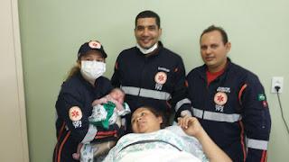 Samu de Pedra Lavrada realiza o primeiro parto em três anos de existência