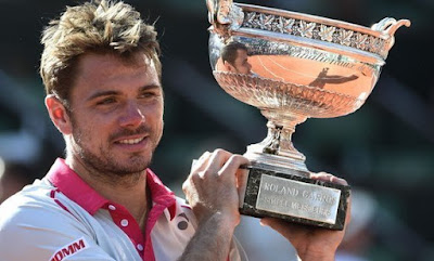 Stanislas Wawrinka French Open 2015