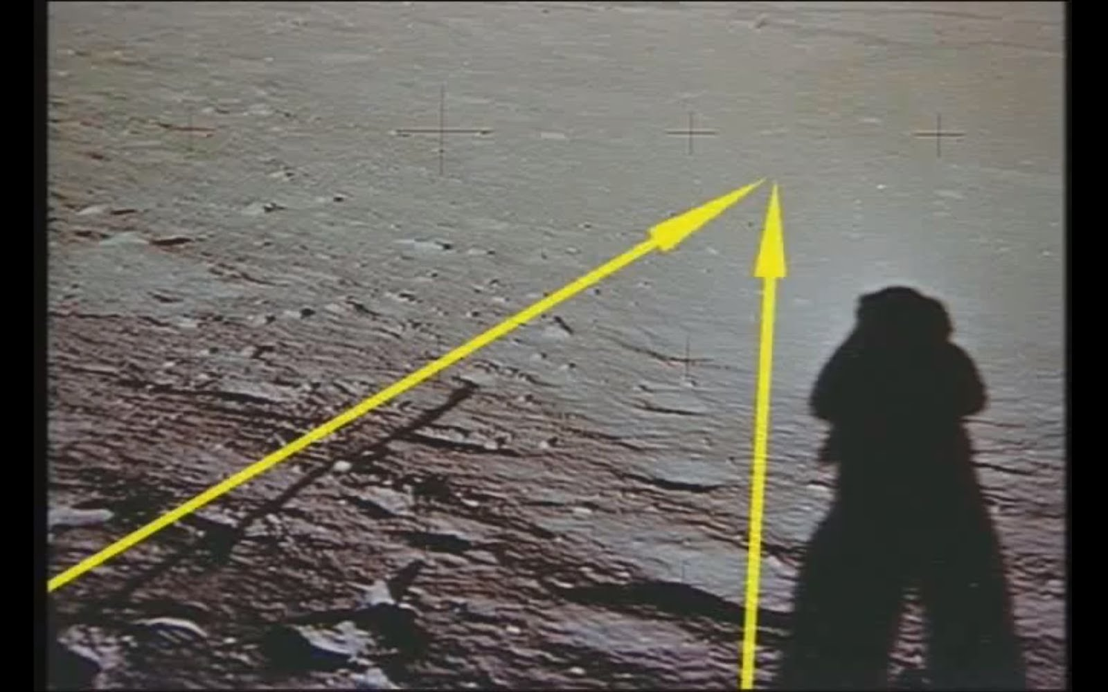 moon landing conspiracy shadows - photo #12