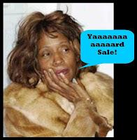 Whitney Houston Yard Sale