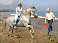 Funny photo Traian Basescu Elena Udrea Remember