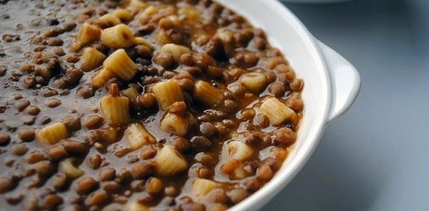 Ricetta pasta e lenticchie secche