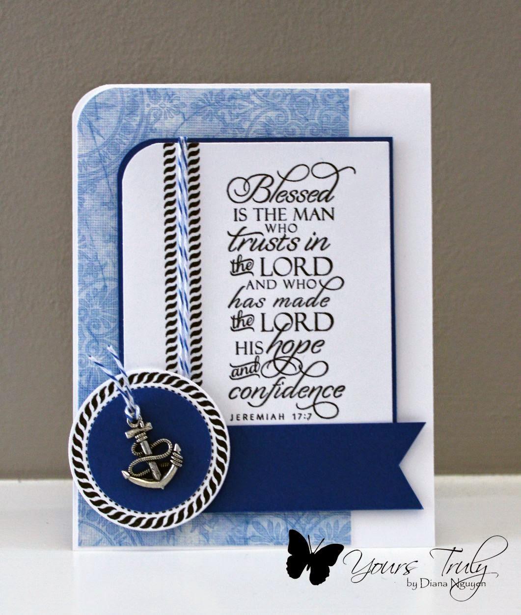 Verve, Scripture, masculine card