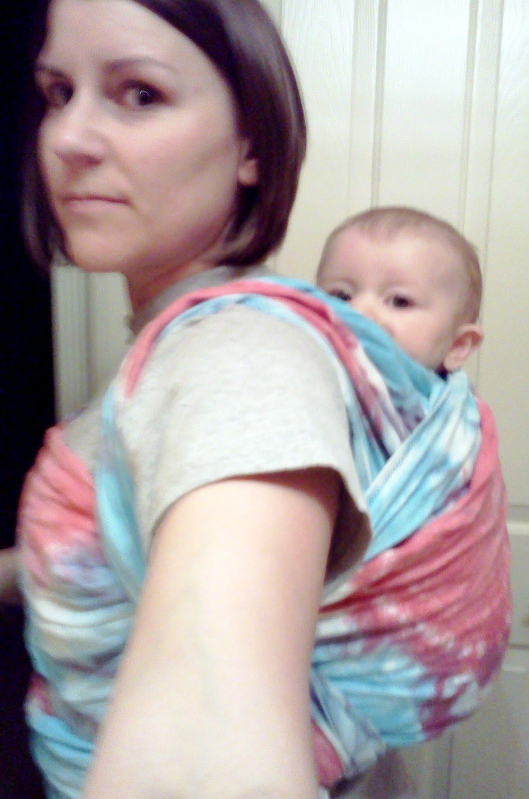 fruitpants diy stretchy and woven baby wrap