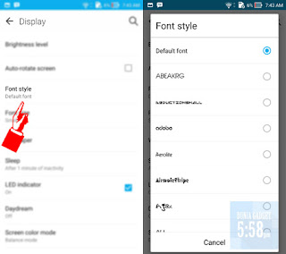 Cara ganti font di android tanpa root