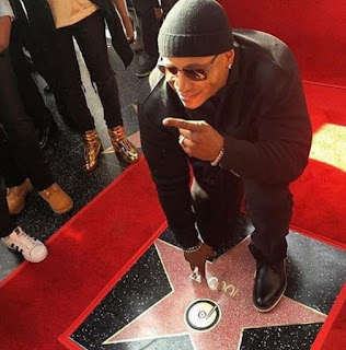 Picture Of LL Cool J Receive His Star On The Hollywood Walk Of Fame