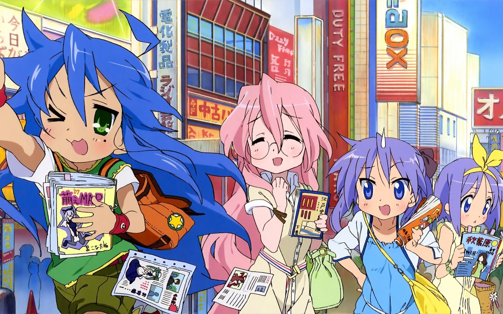 Lucky Star [24/24] + OVA [MF]