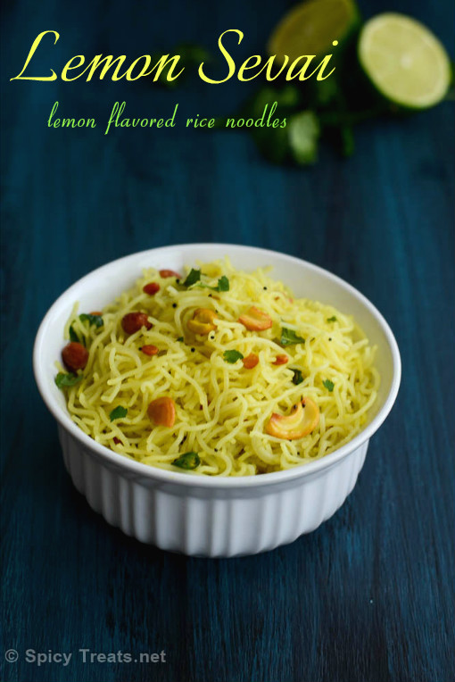 Lemon Sevai Recipe
