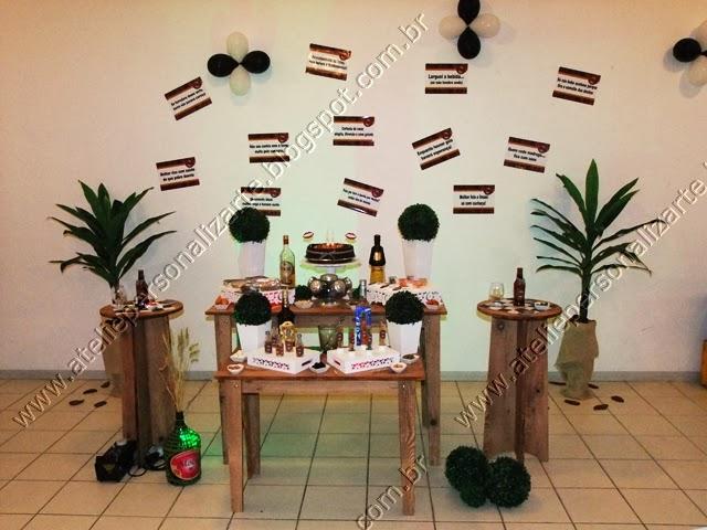 decoracao para boteco : decoracao para boteco:Decoração de festas, lembrancinhas personalizadas, bolos