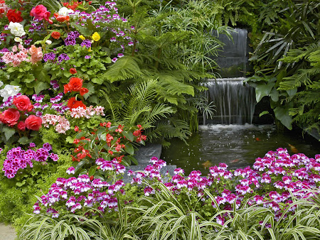taman yan sangat cantik