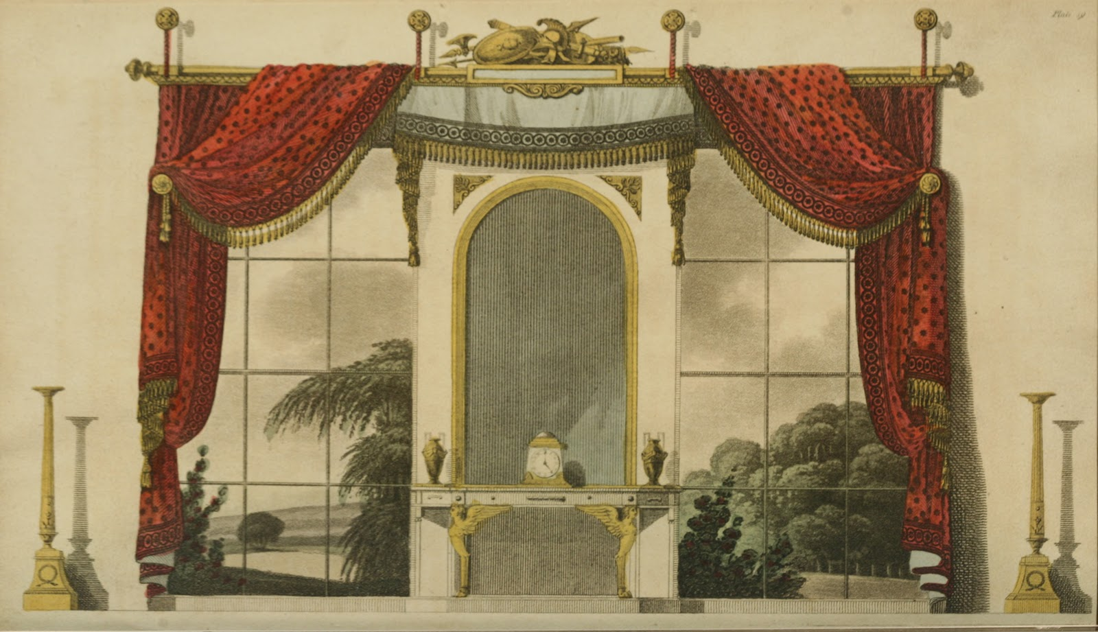 ekduncan - my fanciful muse  regency era curtains