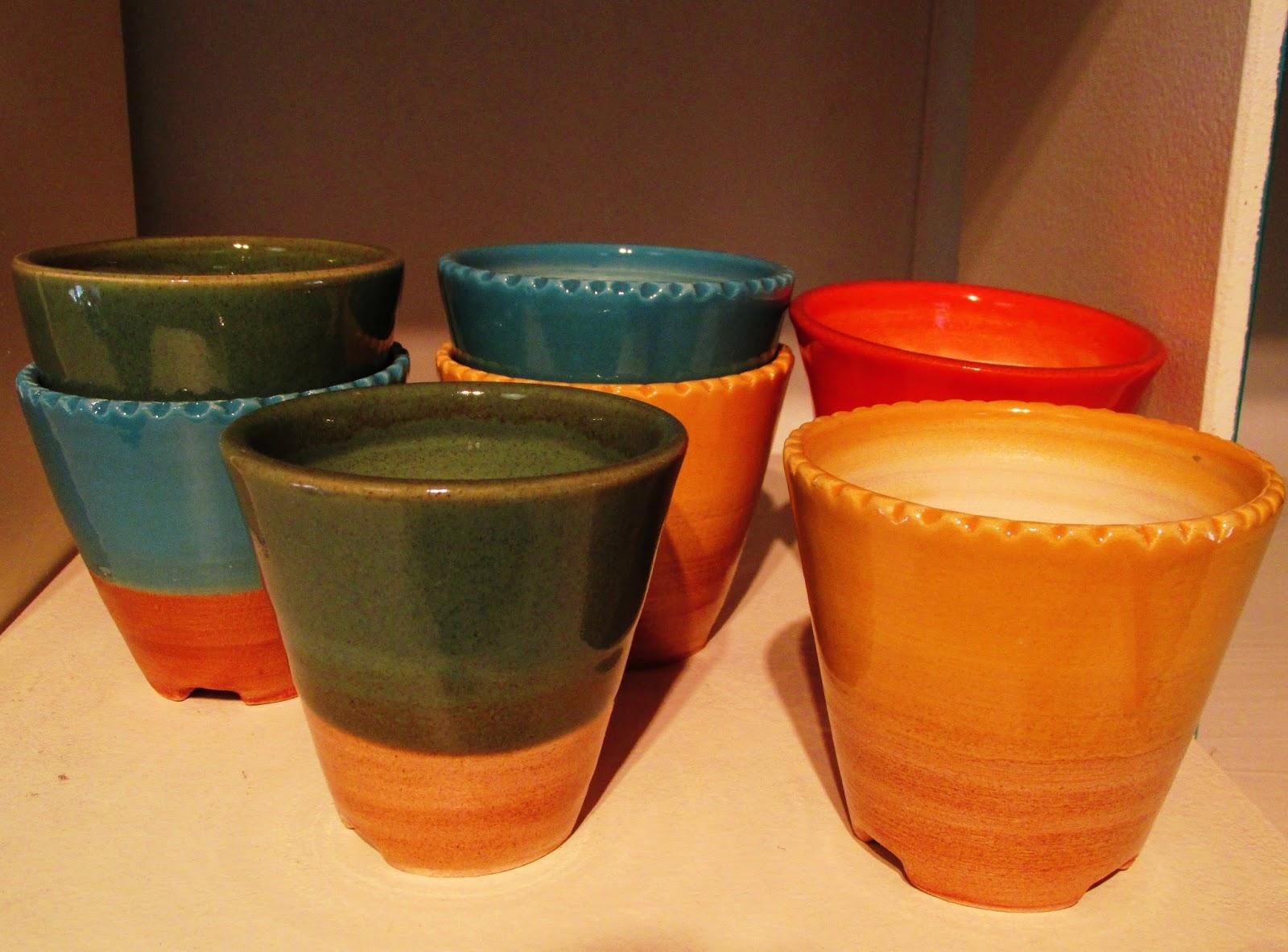 Ceramica azucena acevedo macetas para cactus de cer mica - Cactus en macetas pequenas ...