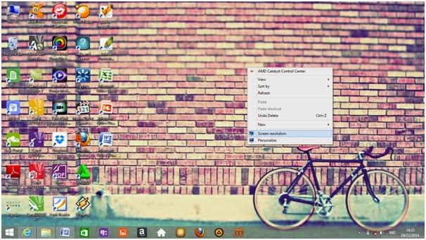 Cara Mengatur Resolusi Monitor di Windows 8